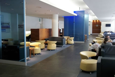 Business Lounges at Brussels' airport