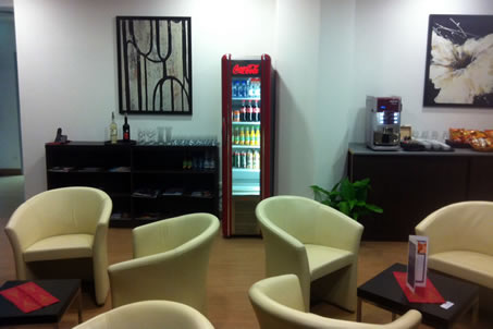 Airport Lounge - Budapest's Airport