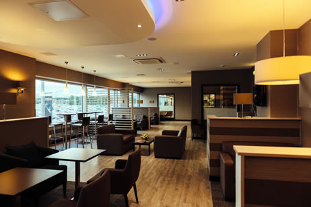 Business Lounges at Edinburgh's airport