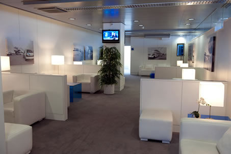 Business Lounges Blue at Lisbon's airport
