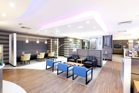 Business Lounges Aspire at London Gatwick's airport