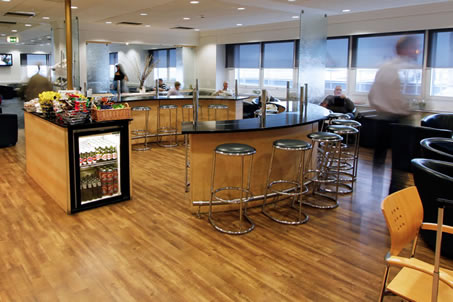Business Lounges Aspire at London Heathrow's airport