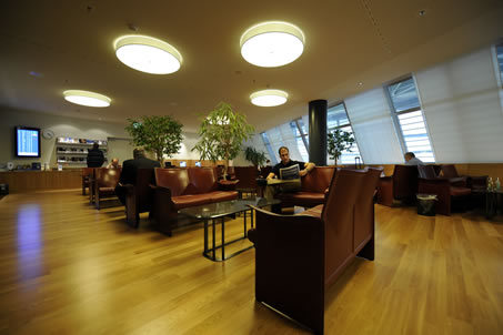 Business Lounges at Zurich's airport