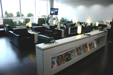 Business Lounges at Geneva's airport