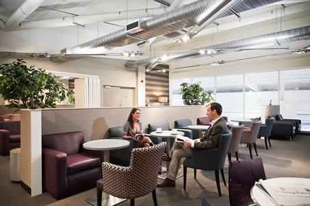 Business Lounges Aspire at London Luton's airport