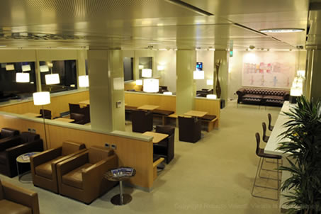 VIP Airport Lounge - Milan Linate Airport