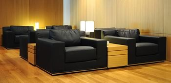 Air Lounges. Sala VIP. Zona de descanso